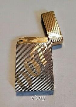 S. T. Dupont New 007 Limited Edition Collection Gold Lighter #0260/1962 (016168)