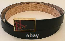 S. T. Dupont Opus X Limited Edition Buckle With Black Belt, 051218, New In Box