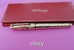 S. T. Dupont Pharaoh Limited Edition 2575 Fountain Pen -18k gold M NIB