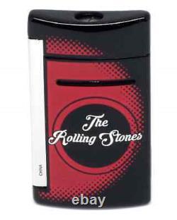 S. T. Dupont Rolling Stones Limited Edition Black Minijet Lighter 010110
