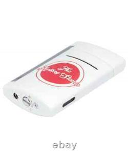 S. T. Dupont Rolling Stones Limited Edition White Minijet Lighter 010109