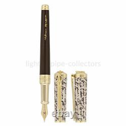 S. T. Dupont Shakespeare Sword Fountain Pen, Limited Edition 290103