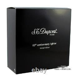 S. T. Dupont Solitaire 60th Anniversary Limited Edition Line 2 Lighter NEW