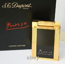 S. T. Dupont Tischfeuerzeug Table Lighter Picasso Limited Edition 1998