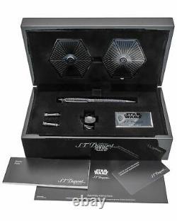 S. T. Dupont limited edition Streamline Star Wars Tie Fighter Black Ballpoint Pen