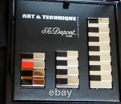 ST Dupont Art & Technique Limited Edition Lighter Set, Fully Boxed with Papers