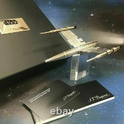 ST Dupont Star Wars X-Wing Rollerball Pen Streamline Limited Edition Black