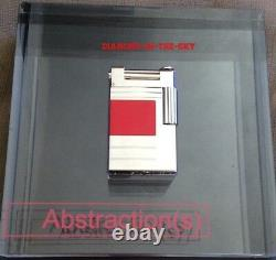 St Dupont Abstractions Red Lacquer Limited Edition Urban Lighter Palladium New