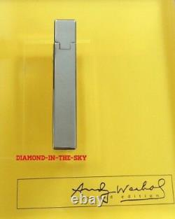 St Dupont Andy Warhol Self Portrait Limited Edition Line 2 Lighter Lacquer New