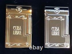 St Dupont Cuba Libre Palladium Ligne 2 Line 2 Limited Edition Lighter Only 500