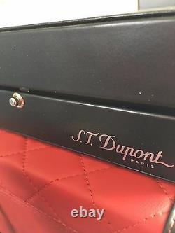 St Dupont Diamond Drop Limited Edition Palladium Orpheo Rollerball Pen #786/1952