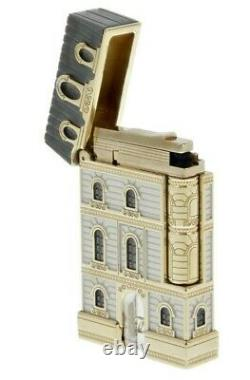 St Dupont From Paris With Love Limited Edition Lighter Line Linge 2 Gold 016610p