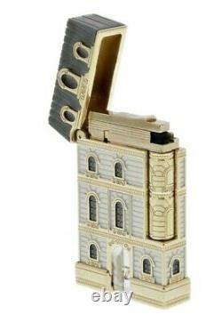St Dupont From Paris With Love Limited Edition Set Lighter And Pen Gold W Globe