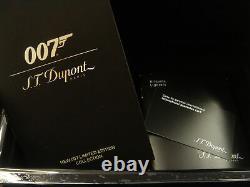 St Dupont James Bond 007 Line 2 Limited Edition Gold Lighter 16318 016318 Ligne