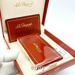St Dupont- Limited Edition Trinidad- Rare L2 Gold Plated Lighter