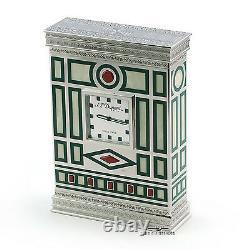St Dupont Medici Limited Edition Table Clock Vault Kept Mint