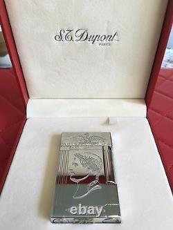 St Dupont Napoleon Bonaparte Linge 2 Line 2 Limited Edition Platinum Lighter