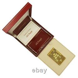 St Dupont New Limited Edition Trinidad Very Rare Prototyp Lighter