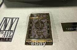 St Dupont Ny 5th Ave Linge 2 Line 2 Limited Edition Gold Lighter Purple Lacquer