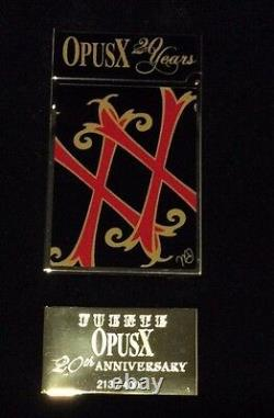 St Dupont Opus X Linge 2 Line 2 Limited Edition Gold Lighter Black Lacquer 20th