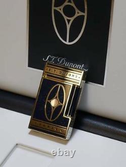 St Dupont Orient Express Linge Line 2 Limited Edition Palladium Lighter Lacquer