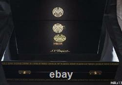 St Dupont Shanghai Limited Edition Desk 3pc Set President Fountain Pen 230/288