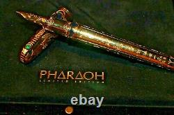 The new Pharaoh Limited Edition series from S. T. Dupont Gold Nib Rare Edition