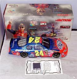 124 Action 2004 #24 Dupont A Couru Brickyard Gagner Jeff Gordon Concessionnaires Avec Pneus