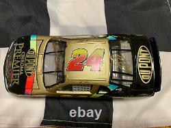 1997 Jeff Gordon Et Ray Evernham Dual Autographié Dupont Chroma Premier 1/24