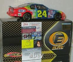 2000 Rcca Jeff Gordon #24 Dupont Autographé Elite 1/24 Voiture N°4897/5000 Avec Jsa Coa