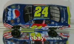 2002 Jeff Gordon #24 Dupont Pepsi Daytona Autographe 1/24 Voiture Avec Jsa Coa Rare