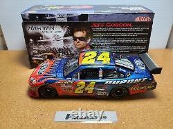 2007 Jeff Gordon #24 Dupont Phoenix 76e Victoire Hms Chevy 124 Nascar Action Mib