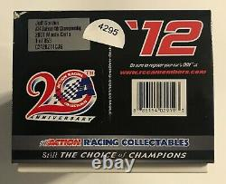 2012 #24 Jeff Gordon Dupont 4th Championship 2001 Car 1/24e Barème #4295
