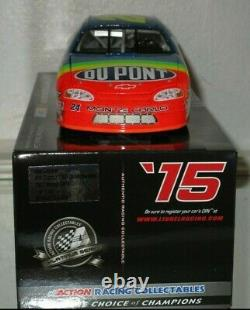 2015 Jeff Gordon #24 Dupont 1997 Charlotte Win 1/24 Voiture#939/1537 Awesome Rare