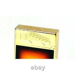 Accendino S. T. Dupont 16102 Fender Stratocaster Sunburst Edition Limitée Numerata