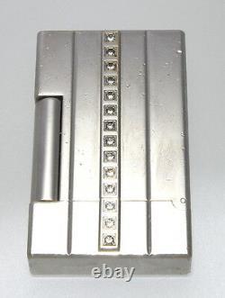 Authentique Rare St Dupont Night Light 2000 Diamonds Limited Edition Lighter