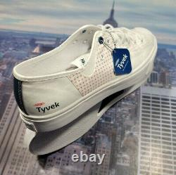 Converse X Dupont Tyvek Jack Purcell Rally Ox Low Top Hommes Taille 10 170063c Nouveau