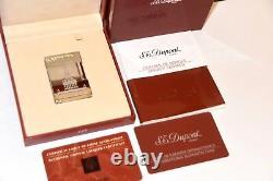 Dupont St. Petersburg Lighter Edition Limitée De 300 Palladium Line 2 Mint/boxed