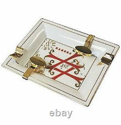 Edition Limitée Opus X Limoges Cigar Ashtray With Bridges, F6002w New In Box
