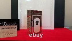 Edition Limitée S. T. Dupont Taj Mahal Jeroboam Table Lighter #107/200