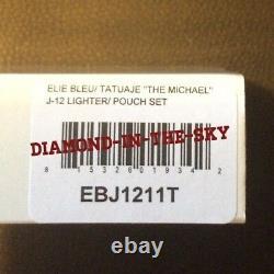 Elie Bleu #10 Tatuaje Michael Monster Jet Flame Limited Edition Lighter Blue Laq