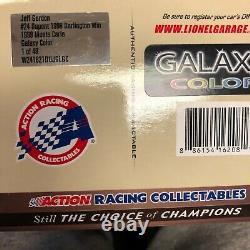 Jeff Gordon #24 Dupont 1998 Darlington Gagne 1998 Monte Carlo Galaxy Couleur 4 De 48