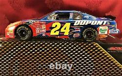 Jeff Gordon #24 Dupont 2001 Chevy Rcca 1/24 Elite & 1/64 Ho Car Diecast Set