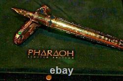 La Nouvelle Série Pharaon Limited Edition De S. T. Dupont Gold Nib Rare Edition