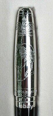 Nouveau 2003 S. T. Dupont Edition Limitée Napoléon Bonaparte Medium 18k Nib