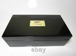 Nouveau S. T. Dupont 007 James Bond Limited Edition Rollerball 412048 Retail 1195$