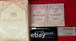 Rare Édition Limitée S. T. Dupont Maharadjah Hammer Lighter #465/2000