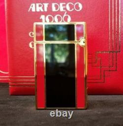 Rare Limited Edition S. T. Dupont 1996 Art Déco Ligne 2 Briquet #552/2500