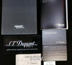 Rare Limited Edition S. T. Dupont Shaman Ligne 2 Briquet #590/2929