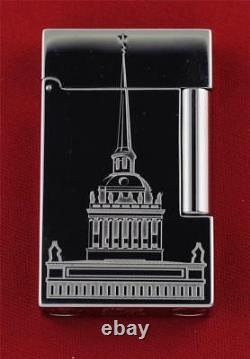 Rare New Limited Edition 2003 S. T. Dupont St. Petersburg L2 Lighter